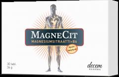 MAGNECIT MAGNESIUMSITRAATTI + B6 X30 TABL