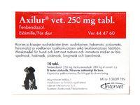 AXILUR 250 mg vet tabl 10 fol